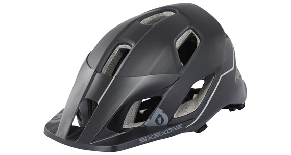 SixSixOne Evo AM helm zwart